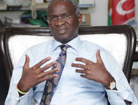 Fashola retains Ministry of Work and Housing, loses the Power Segment