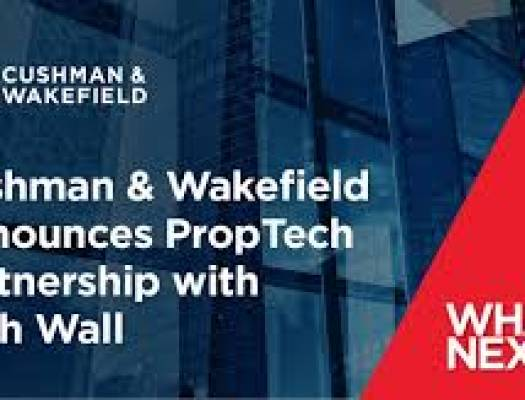 CUSHMAN & WAKEFIELD ANNOUNCES PROPTECH PARTNERSHIP WITH FIFTH WALL