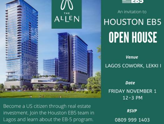 Houston EB5 Nigeria hosts open house at Lagos Cowork